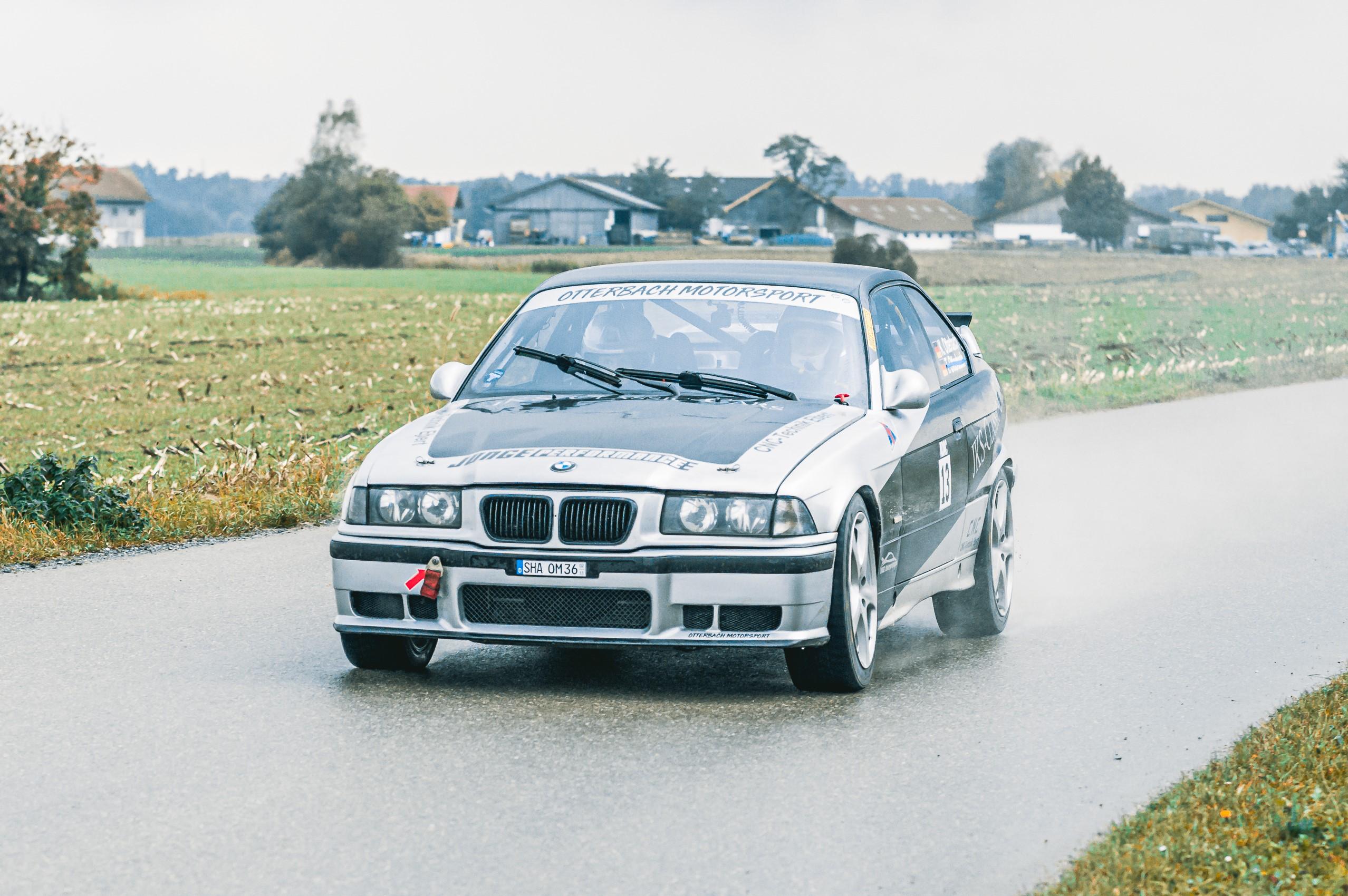 Gesamtsieger Kai Otterbach und Lars Stütz auf BMW M3 E36
